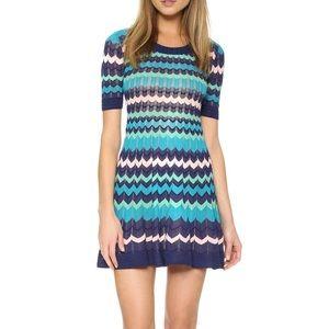 M Missoni colorblock zig zag dress. Size 42
